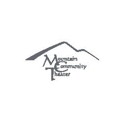 Image of Mountain Community Theater logo