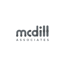 McDill logo for black backgrounds